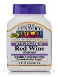 Resveratol Red Wine Extract 90 Capsules