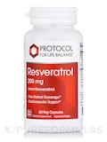 Resveratrol Extra Strength 200 mg - 60 Veg Capsules