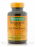 Resveratrol 250 mg Plus Red Wine Extract 60 Softgels