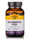Resveratrol Plus 120 Vegetarian Capsules