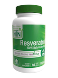 Resveratrol (ResVida™) 100 mg - 60 Softgels