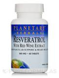 Resveratrol with Red Wine Extract 885 mg 60 Tablets