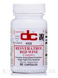 Resveratrol/Red Wine - 60 Capsules