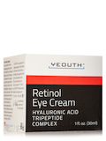 Retinol 2.5% Eye Cream with Hyaluronic Acid, Caffeine, Green Tea - 1 fl. oz (30 ml)