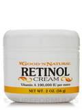 Retinol Cream (Vitamin A 100,000 IU per ounce) 2 oz (56 Grams)