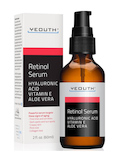 Retinol Serum with Hyaluronic Acid, Vitamin E, Aloe Vera - 2 fl. oz (60 ml)