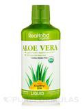 Realfood Organics® - Liquid Aloe Vera 32 fl. oz - 1 Qt (946.3 ml)