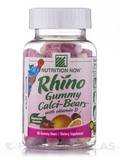 Rhino Calci-Bears™ with Vitamin D (Assorted Flavors) - 60 Gummies