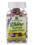 Rhino Veggie-Fruit Sour Flavored 60 Gummies