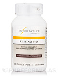 Rhizinate® 3X Extra-Strength Deglycyrrhizinated Licorice (German Chocolate Flavor) - 90 Chewable Tab