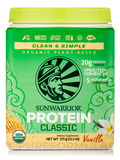 Classic Protein (Raw Vegan, Vanilla Flavor) 17.6 oz (500 Grams)