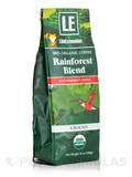 Rainforest Blend Ground Coffee, 100% Organic - 12 oz (340 Grams)