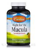 Right for® the Macula, Natural Orange Flavor - 120 Soft Gels