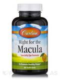 Right for® the Macula, Natural Orange Flavor - 60 Soft Gels