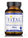 R-Form Alpha Lipoic Acid 100 mg 60 Vegetable Capsules (F)