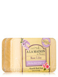 Rose Lilac Soap Bar - 8.8 oz (250 Grams)