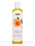 NOW® Solutions - Tranquil Rose Massage Oil - 8 fl. oz (237 ml)