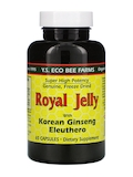 Super High Potency Royal Jelly with Korean Ginseng and Eleuthero - 65 Capsules