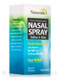 Saline & Aloe Nasal Spray (Non-Medicated) - 1.5 fl. oz (45 ml)