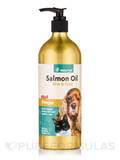 Salmon Oil for Dogs & Cats - Unscented - 17 fl. oz (503 ml)
