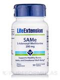 SAMe (S-Adenosyl-Methionine) 200 mg - 50 Enteric Coated Tablets