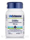 SAMe (S-adenosyl-methionine) 400 mg 50 Tablets