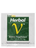 Sample Pack : Herbal V Ultra Male Potency Formula 500 mg 1 Capsule