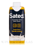 Sated Complete Keto Meal Shake, Vanilla Flavor - 11 fl. oz (325 ml)