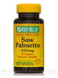 Saw Palmetto 450 mg - 100 Capsules