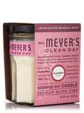 Scented Soy Candle, Cranberry Scent - 4.9 oz (140 Grams)