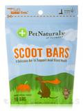Scoot Bars for Dogs (Made with Real Pumpkin!) - 10 Bars (7.05 oz / 200 Grams)