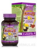 Super Earth® Rainforest Animalz® Vitamin D3 400 IU, Mixed Berry Flavor - 90 Animal-Shaped Chewables