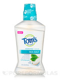 Sea Salt Mouthwash, Refreshing Mint - 16 fl. oz (473 ml)