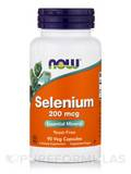 Selenium (Yeast Free) 200 mcg - 90 Vegetarian Capsules