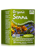 NOW® Real Tea - Senna Tea Bags - Box of 24 Packets