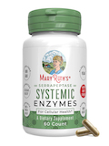 Serrapeptase Systemic Enzymes - 60 Capsules