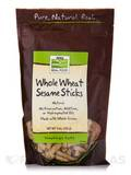 NOW® Real Food - Sesame Sticks (Whole Wheat) - 9 oz (255 Grams)