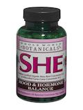 SHE™ Mood & Hormone Balance - 120 Vegetarian Capsules