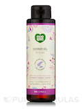 Shower Gel, For Dry Skin - Blueberry, Grape & Lavender (Purple Fruit Extracts) - 17.6 fl. oz (500 ml