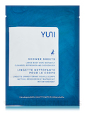 Shower Sheet, Large Body Wipe - Neem, Peppermint and Citrus - 1 Single Packet