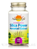 Silica Power Horsetail Extract 300 mg - 60 Vegetarian Capsules