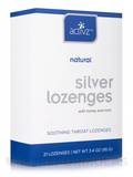 Silver Lozenges with Honey and Mint - 21 Count (3.4 oz / 95 Grams)