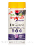 Simply One® Chewable SeeClearly (Vision Formula), Wild-Berry Flavor - 30 Chewable Tablets