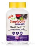 Simply One® Chewable SeeClearly (Vision Formula), Wild-Berry Flavor - 90 Chewable Tablets