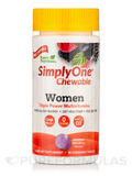 Simply One® Chewable Women Multivitamins, Wild-Berry Flavor - 30 Chewable Tablets