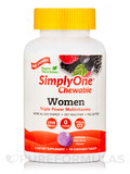 Simply One® Chewable Women Multivitamins, Wild-Berry Flavor - 90 Chewable Tablets