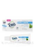 Simply White™ Toothpaste, Clean Mint (with Fluoride) - 0.9 oz (25 Grams)