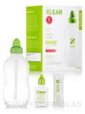 Sinus Rinse with Xylitol and Saline Solution - 1 Sinus Rinse Bottle & 6 Packets of Sinus Care Soluti