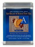 Sip Right 4 Your Type Tea (Blood Type A) - BOX OF 20 SATCHETS