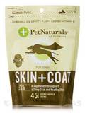 Skin and Coat for Dogs - 45 Duck Flavored Chews